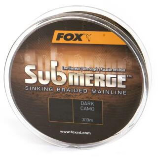 Fox Submerge Dark Camo Schnur 0,20 mm 18,1 KG 600 Meter
