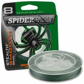 Spiderwire Stealth Smooth 8 0,13 mm 12,7 KG Farbe Green