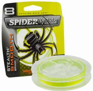 Spiderwire Stealth Smooth 8 0,09 mm 7,5 KG Farbe Yellow