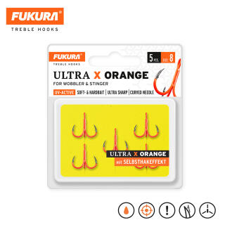 Lieblingsköder Fukura Ultra X Orange Drilling 8
