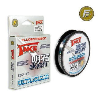 Lineaeffe Take Akashi Fluorocarbon Ultraclear 50m 0,25mm